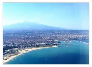 Достопримечательности Сицилии. Вулкан Этна. фото