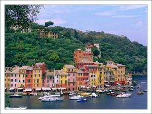 Морские курорты Италии. Портофино фото