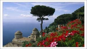Природа Италии. Море. фото