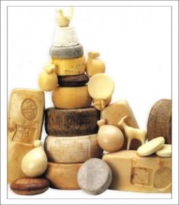 Итальянские продукты. Сыры фото