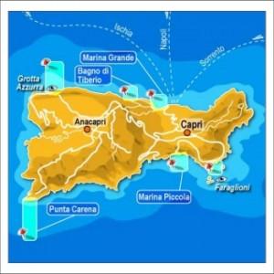 Капри карта фото