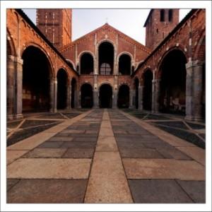 Милан.Базилика Святого Амброджо фото