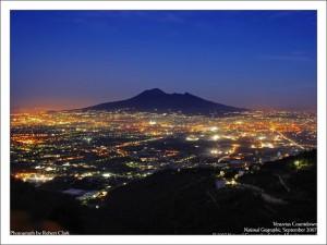 Вулкан Везувий фото