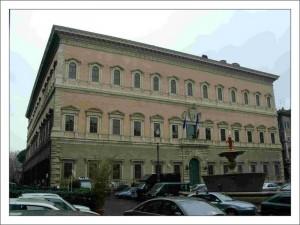 Дворцы Италии. Palazzo_Farnese фото