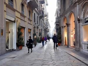 шоппинг в Милане фото