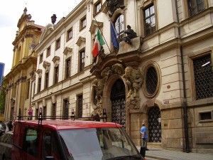 Посольство Италии фото