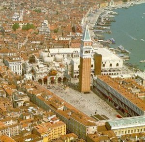 Площадь Сан-Марко в Венеции фото